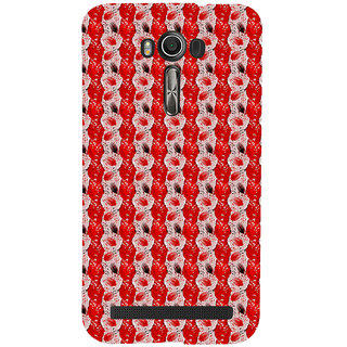 ifasho Animated  Feather Back Case Cover for Asus Zenfone 2 Laser ZE601KL