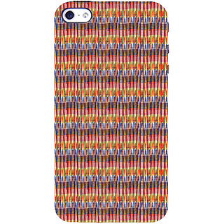 ifasho Animated Pattern of Chevron style pencils arrows Back Case Cover for Apple iPhone 5