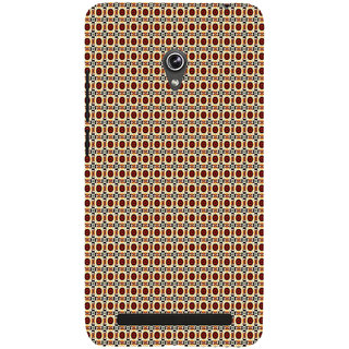 ifasho Animated Pattern design many small flowers  Back Case Cover for Asus Zenfone 6
