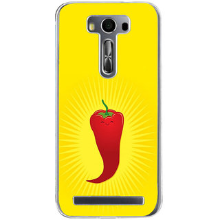 ifasho Red Chillies Back Case Cover for Zenfone 2 Laser ZE500KL