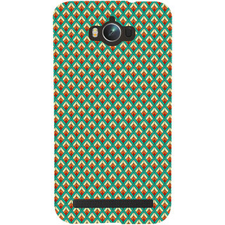 ifasho Animated Pattern of Chevron Arrows royal style Back Case Cover for Asus Zenfone Max