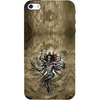 ifasho Siva tandab dance Back Case Cover for Apple iPhone 5