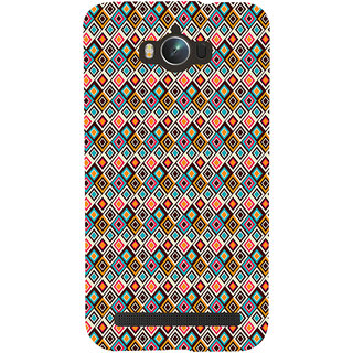 ifasho Animated Pattern colrful rajasthani design Back Case Cover for Asus Zenfone Max