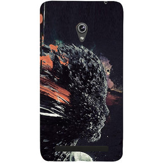 ifasho Girl animation face Back Case Cover for Asus Zenfone 6