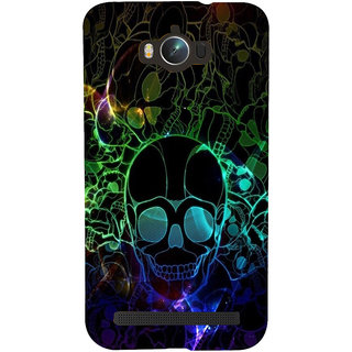 ifasho Modern  Design animated skeleton Back Case Cover for Asus Zenfone Max