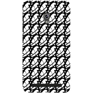 ifasho Animated Pattern of oval design Back Case Cover for Asus Zenfone 6