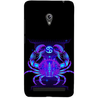 ifasho zodiac sign cancer Back Case Cover for Asus Zenfone 6