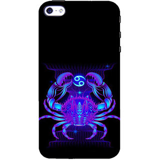 ifasho zodiac sign cancer Back Case Cover for Apple iPhone 5