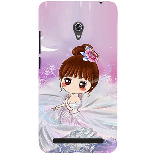 ifasho Princess Girl Back Case Cover for Asus Zenfone 6