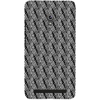 ifasho Design lines pattern Back Case Cover for Asus Zenfone 5