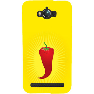 ifasho Red Chillies Back Case Cover for Asus Zenfone Max