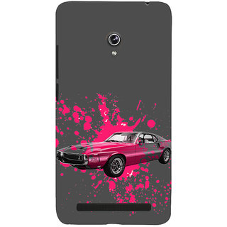 ifasho Vintage Car Back Case Cover for Asus Zenfone 6