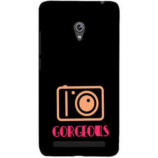 ifasho Being Yourself gorgeous Back Case Cover for Asus Zenfone 6