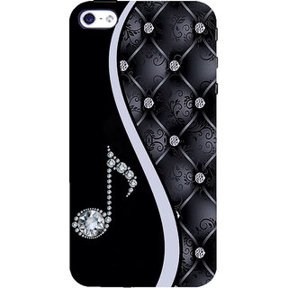 ifasho Modern Art Design Pattern Music symbol Back Case Cover for Apple iPhone 5