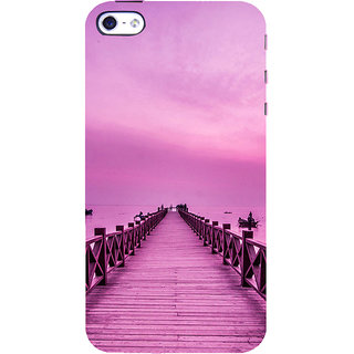ifasho walking wooden bridge on a sea Back Case Cover for Apple iPhone 5