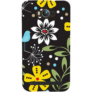 ifasho Animated Pattern birds and flowers Back Case Cover for Asus Zenfone Max