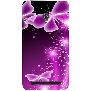 ifasho Butterfly Back Case Cover for Asus Zenfone 5