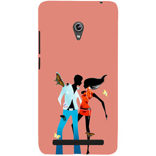 ifasho Boy and girl dancing Back Case Cover for Asus Zenfone 6