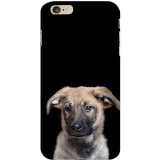 ifasho Grey Dog Back Case Cover for Apple iPhone 6S Plus