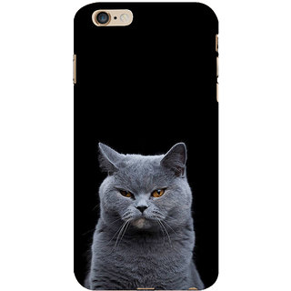 ifasho black Cat Back Case Cover for Apple iPhone 6S Plus