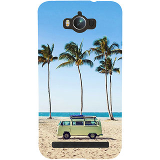 ifasho Bus on a beach Back Case Cover for Asus Zenfone Max