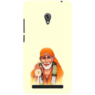 ifasho Shirdi wale Sai Baba Back Case Cover for Asus Zenfone 6