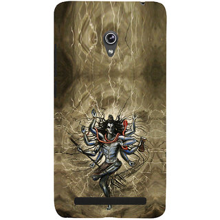 ifasho Siva tandab dance Back Case Cover for Asus Zenfone 6