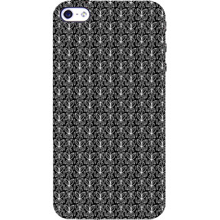 ifasho Animated Pattern black and white butterfly Back Case Cover for Apple iPhone 5