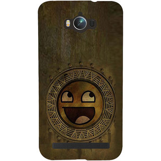 ifasho Smilee on wood Back Case Cover for Asus Zenfone Max