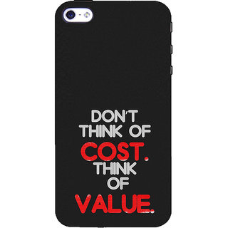 ifasho life Quotes Back Case Cover for Apple iPhone 5