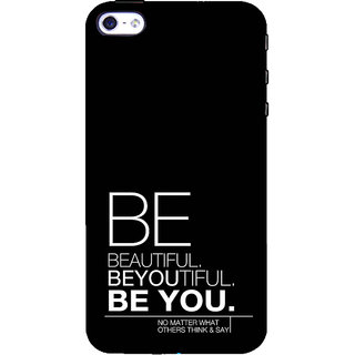 ifasho beautiful qoutes Back Case Cover for Apple iPhone 5