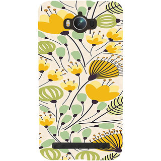 ifasho Animated Pattern colrful flower with leaves Back Case Cover for Asus Zenfone Max