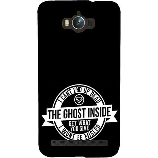 ifasho Think Out of Box Back Case Cover for Asus Zenfone Max