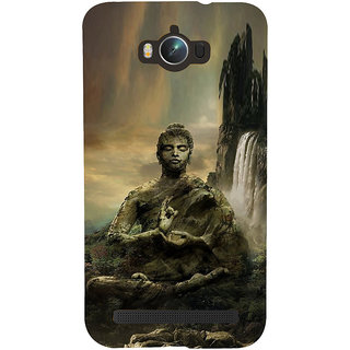 ifasho Lord Budha Back Case Cover for Asus Zenfone Max