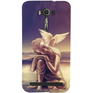 ifasho Lord Budha Back Case Cover for Asus Zenfone 2 Laser ZE601KL