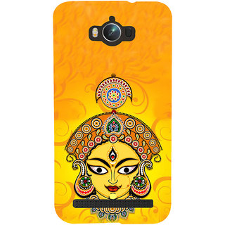 ifasho Godess Durga head Back Case Cover for Asus Zenfone Max