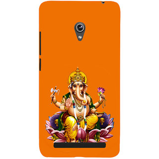 ifasho Lord Ganesha Back Case Cover for Asus Zenfone 6
