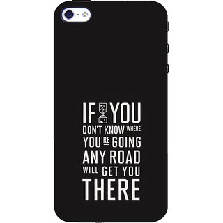 ifasho Life quote Back Case Cover for Apple iPhone 5