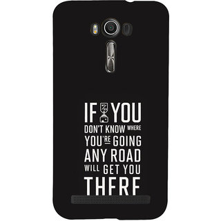 ifasho Life quote Back Case Cover for Asus Zenfone 2 Laser ZE601KL