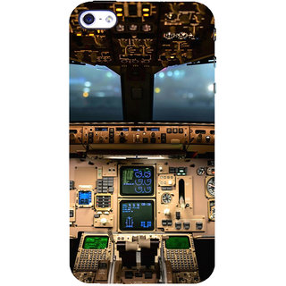 ifasho Plane cavin and machines Back Case Cover for Apple iPhone 5