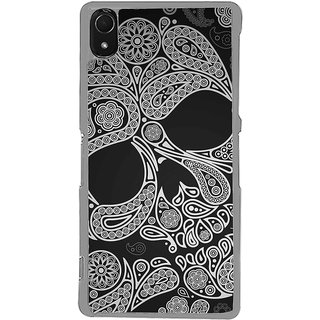 ifasho Modern  Design skeleton in royal Pattern Back Case Cover for Sony Xperia Z3