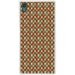 ifasho Animated Pattern With flower inside Circle  Back Case Cover for Sony Xperia Z5