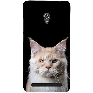 ifasho Innocent Cat with brown Eyes Back Case Cover for Asus Zenfone 6