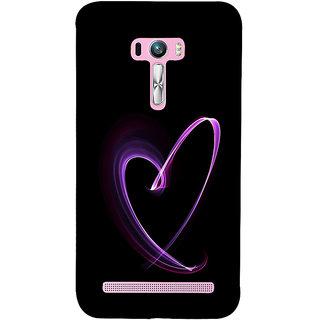 ifasho Modern Art Design heart animated Back Case Cover for Asus Zenfone Selfie