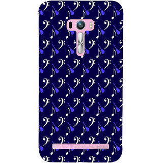 ifasho Animated  Guitar Back Case Cover for Asus Zenfone Selfie