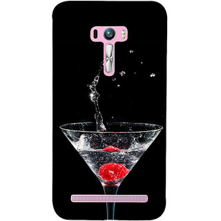ifasho Rose in water glass with Drop of water Back Case Cover for Asus Zenfone Selfie