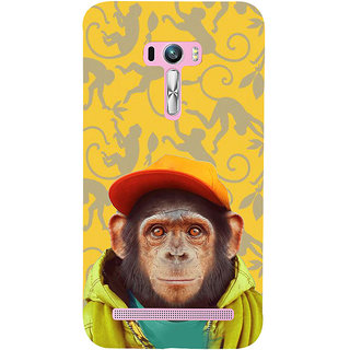 ifasho Monkey with red cap Back Case Cover for Asus Zenfone Selfie