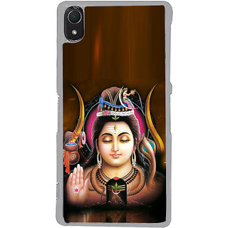 ifasho Lord siva Back Case Cover for Sony Xperia Z3