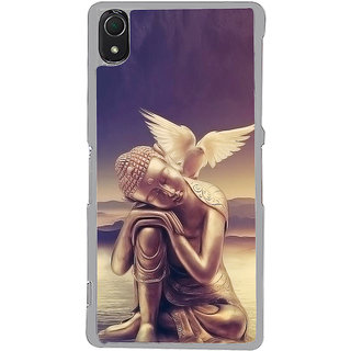 ifasho Lord Budha Back Case Cover for Sony Xperia Z3