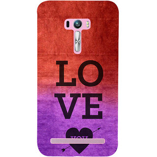 ifasho love you quotes Back Case Cover for Asus Zenfone Selfie
